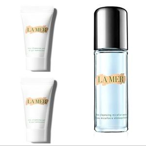 La Mer Cleansing Micellar Water & Foam 3-Piece Set